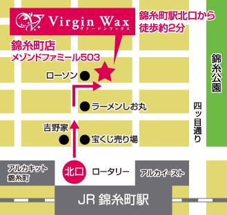 錦糸町店アクセスマップ