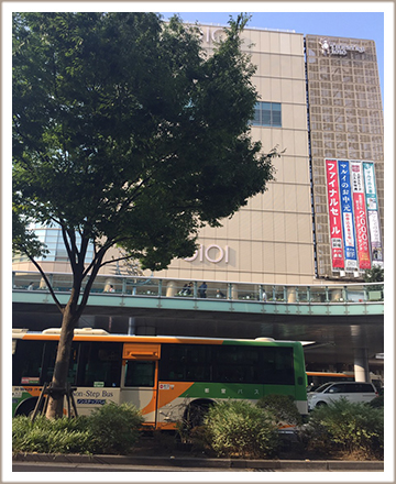 北千住駅西口の画像