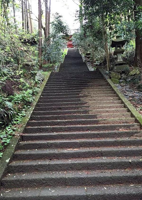 大平山神社と言えば階段が1000段