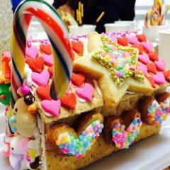 ハッピーバレンタイン お菓子の家