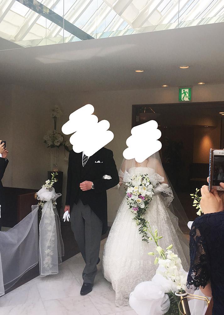 友人の結婚式に参列しまた。