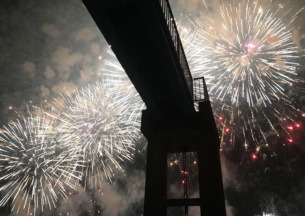 江戸川区花火大会!