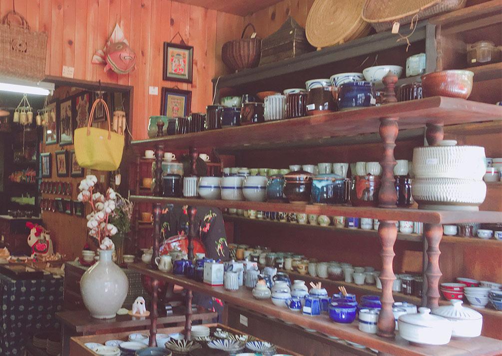 松本の陶器屋さん