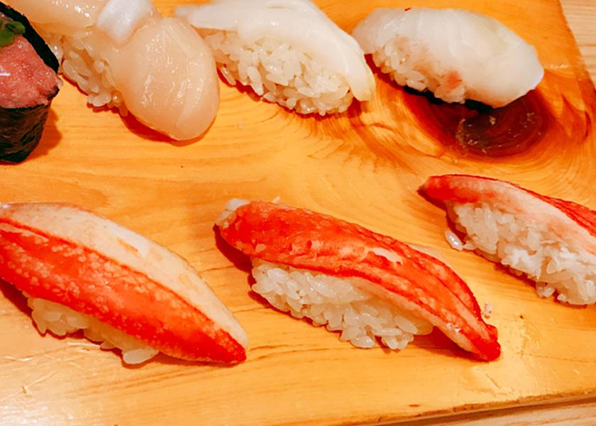 お寿司 カニ
